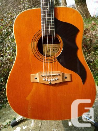 vintage eko ranger 6 dreadnought guitar for sale in ottawa ontario classifieds. Black Bedroom Furniture Sets. Home Design Ideas