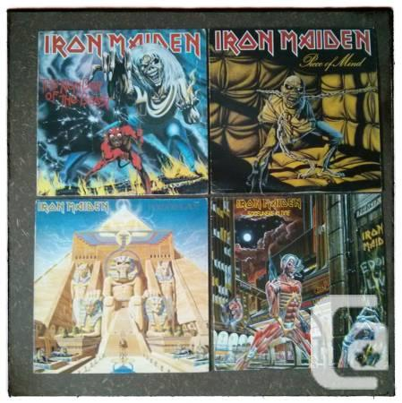 VINTAGE IRON MAIDEN LPs