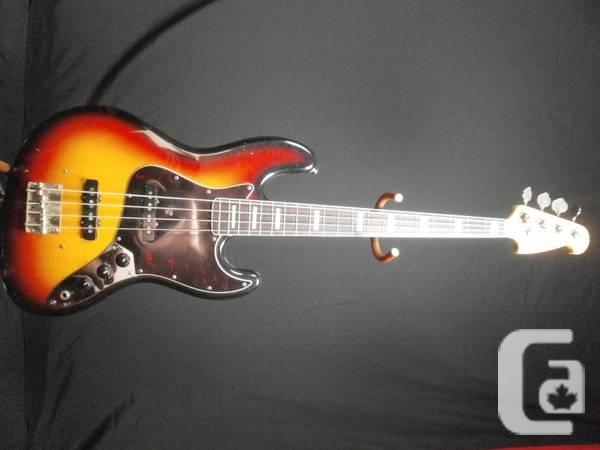 Vintage Japanese 80s lawsuit Electric Bass Guitar -