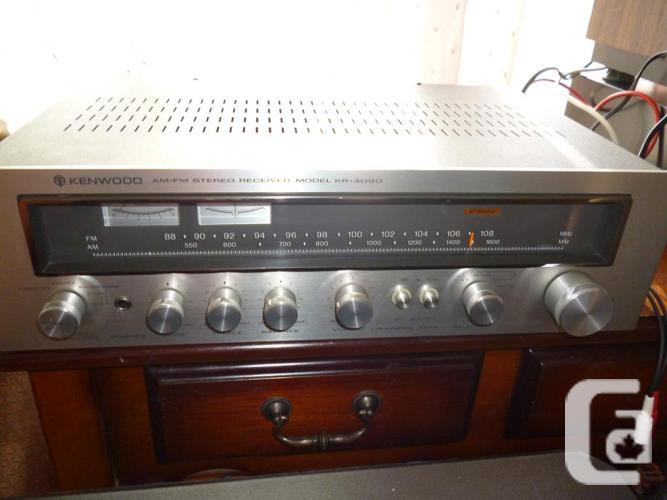 Vintage Kenwood KR-3090 AM/FM Stereo Receiver Phono