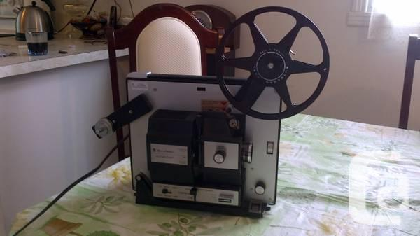 Vintage projector and screen - $65