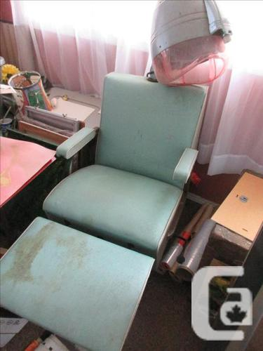 Vintage Salon Hair Dryer Chair & Vintage Salon Hair Dryer Chair for sale in Nanaimo British Columbia ...