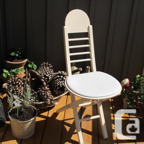 VINTAGE SHABBY CHIC CHAIR - OFFICE -