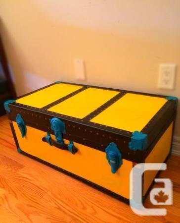 Vintage Shoe -orange,inexperienced -Coffee-Table - $235