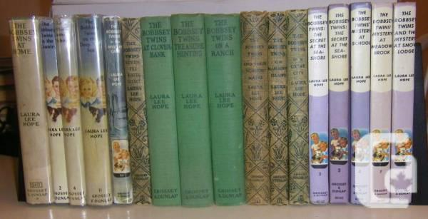 VINTAGE VALUABLE BOBBSEY TWINS LINE BOOKS AVAILABLE