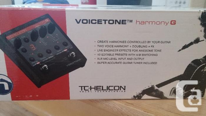 Voice Harmonizer.  TC Helicon
