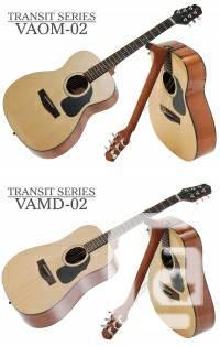 Voyage Air FOLDABLE travel acoustic guitars Transit