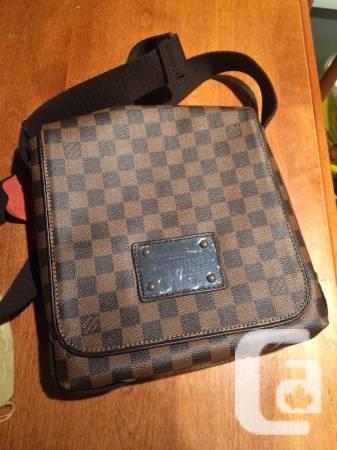 Vuitton Messenger Bag - $600