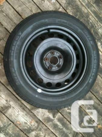 Vw Audi Rim With Michelin Energy Mxv4 Plus 205 55r16 Tire