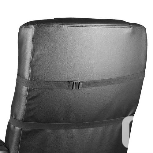 WAGAN HEALTHMATE Velour Heated Seat Cushion - Black