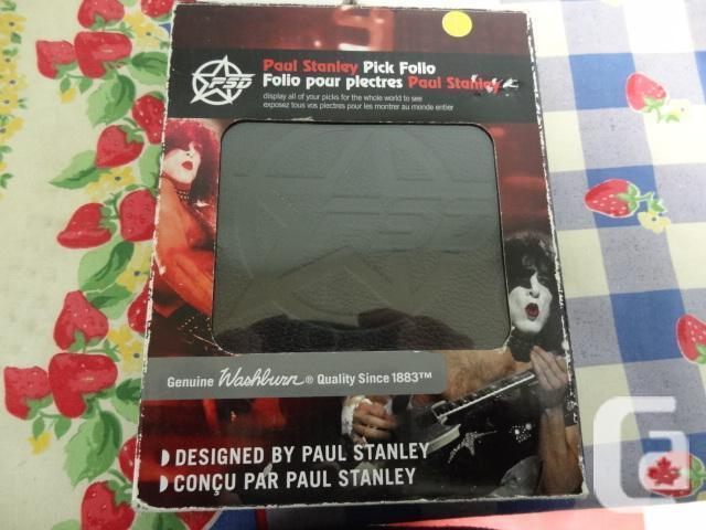 Washburn Paul Stanley Guitar Pick Folio - New in Box-