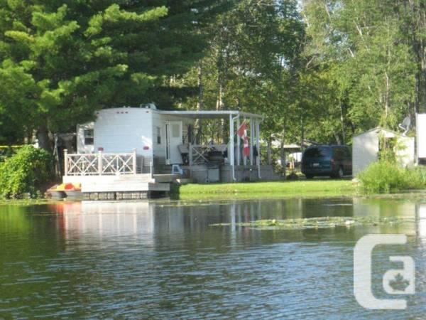 Waterfront Trailer Home in Acton, Ontario - $39000