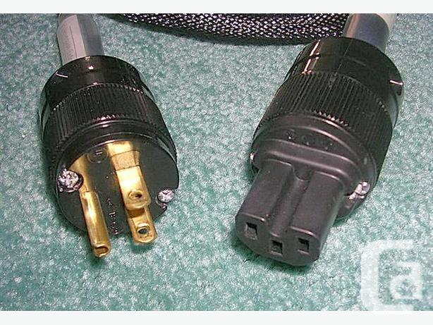 Waveguide(tm) Extreme. 10 AWG Audiophile Mains Cable.