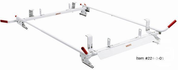 Weather guard 234-3-01 Van ladder rack