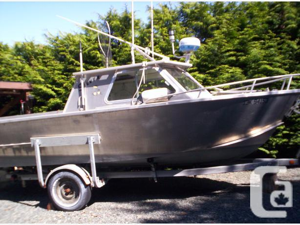 Aluminum Boats For Sale Bc >> Welded Aluminum Fishing Boats For Sale Bc Canal Boat