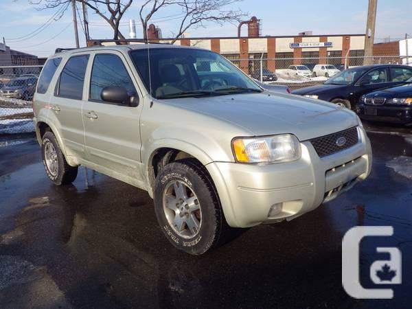 WELL-EQUIPPED 2004 FORD ESCAPE LIMITED 4X4! - $3995