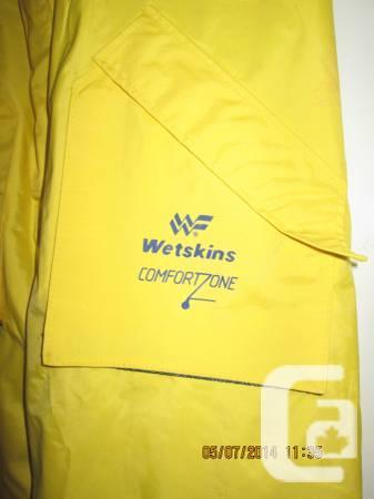 'Wetskins' Rain Trousers-Never utilized,like-new! - $25