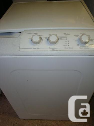 Whirlpool house size machine that is portable