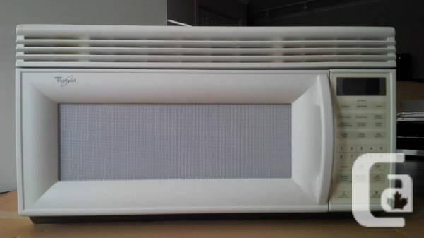 Whirlpool Over The Range Microwave White For Sale In