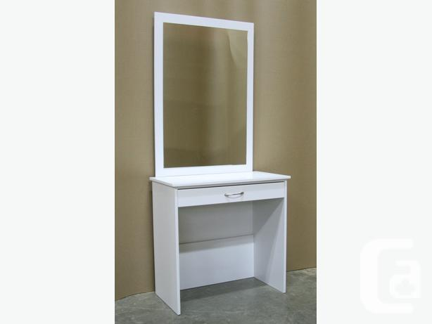 White Vanity Make Up Dressing Table Set Brand New For