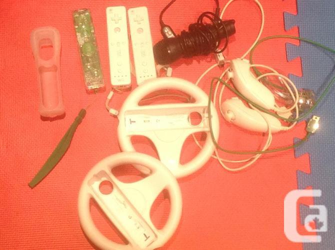 White Wii console