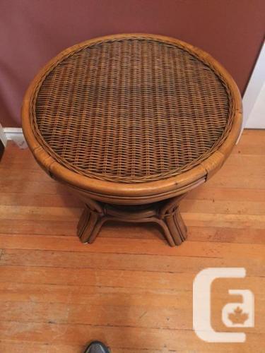 Wicker Rattan Furniture - 5 piece in Nelson