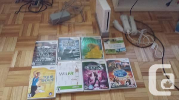 Wii system, and no problems being worked with by all