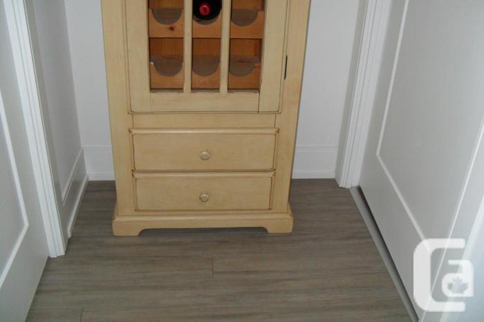 Wine Cabinet -Holds 18 bottles-White Oak- Handmade