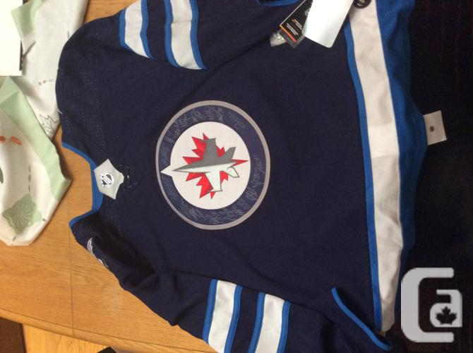 Winnipeg Jets authentic autographed jersey