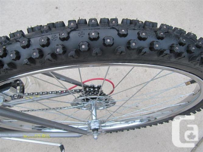 Winter Bike ~ Studded Tires