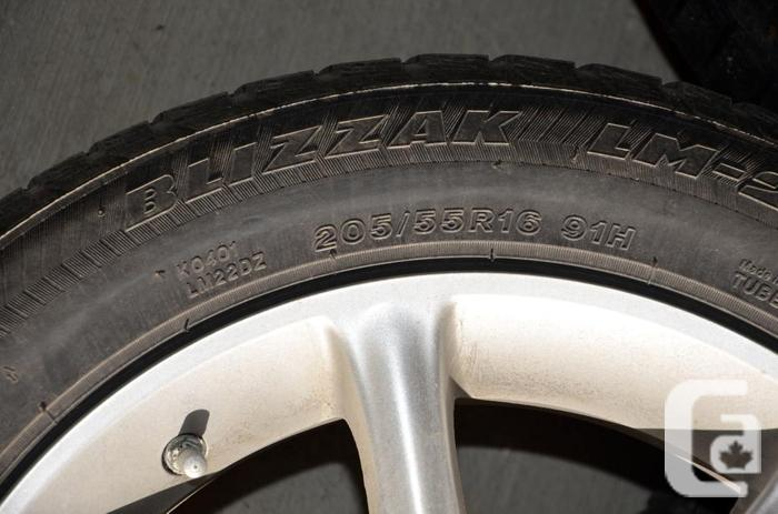 Winter tire and rim package