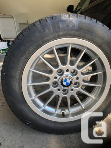 Winter tires and rims for BMW