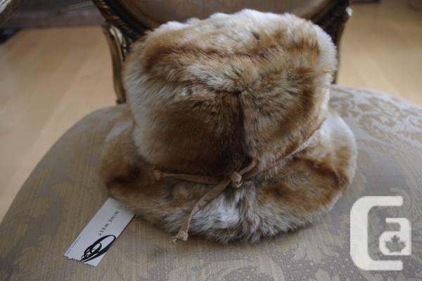 WITH TICKETS Faux Fur Cap - $20