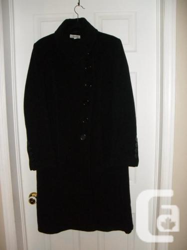 Women Long Dark Jessica Winter Coat/Layer - Size 10