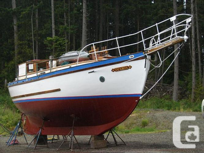 Wonderful old gaff rigged ketch sailboat  in Victoria, British Columbia for  sale