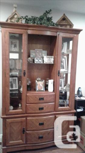 Wooden China Hutch