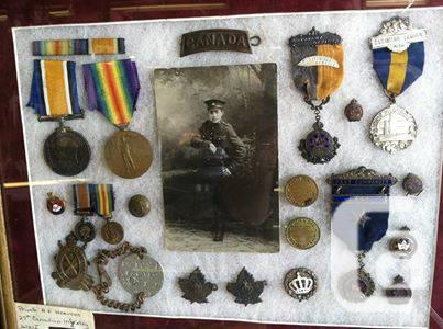 WW1 war soldier Canadian collection vintage medals army antique in Windsor,  Ontario for sale