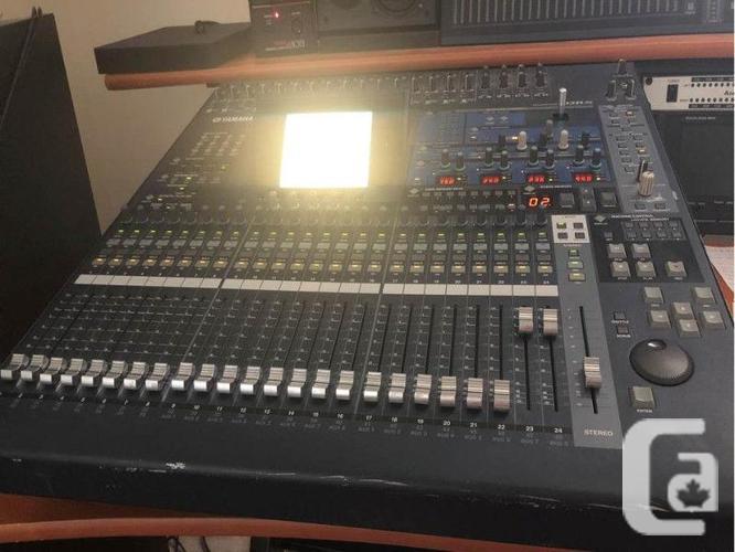 YAMAHA 02R96 DIGITAL MIXING / RECORDING CONSOLE W/
