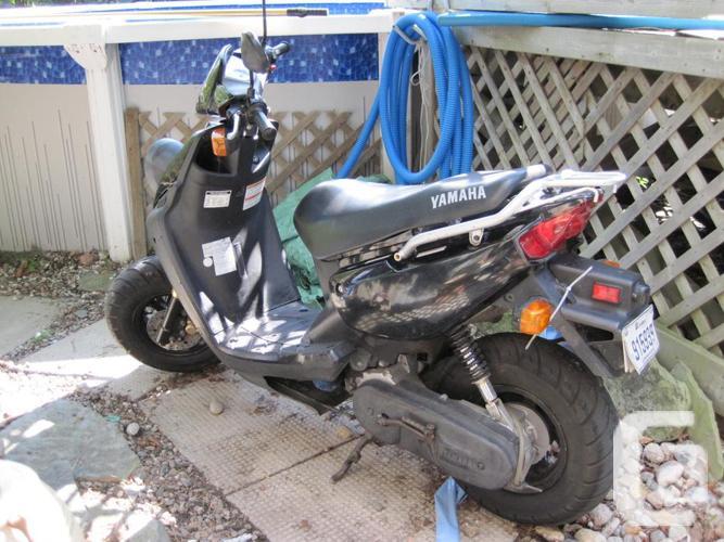 Yamaha 49cc purchased/acheté MAY/MAI 2007 + 2
