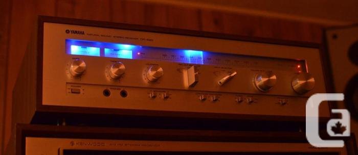 YAMAHA CR-620 STEREO RECEIVER * NEAR MINT, WITH BLUE LED UPGRADE in  Orleans, Ontario for sale