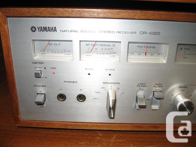 Yamaha Cr1020 receiver