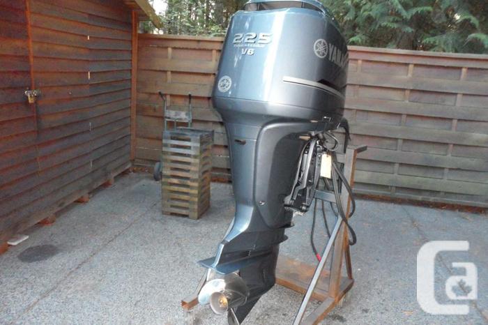 Yamaha f225 extra long shaft  .2010