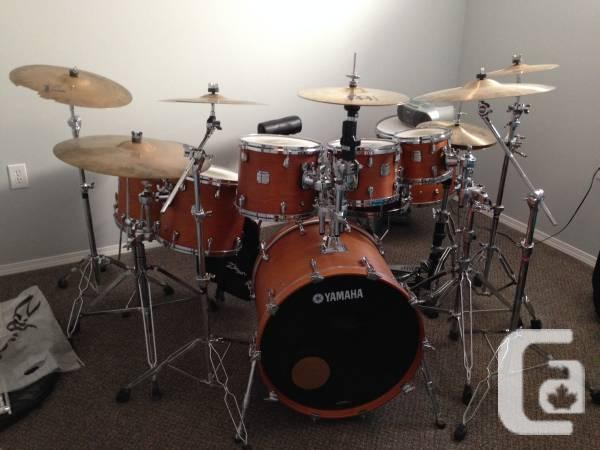 Yamaha Maple Custom Absolute Drum Kit 7 Piece