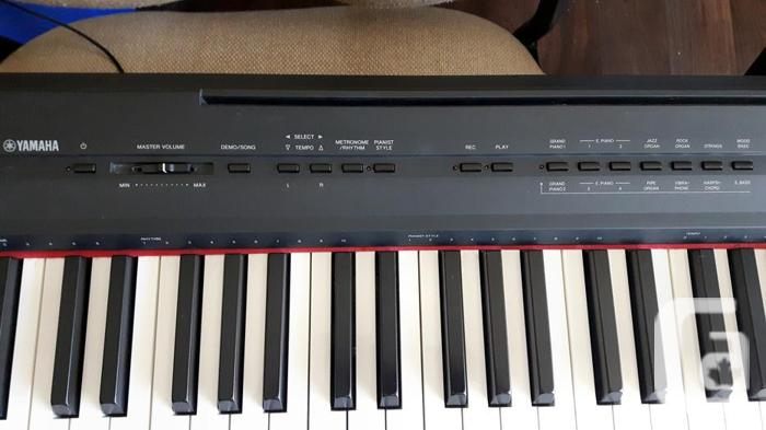 Yamaha p 105 digital piano weighted 88 key for sale in duncan british columbia classifieds for Yamaha fully weighted keyboard