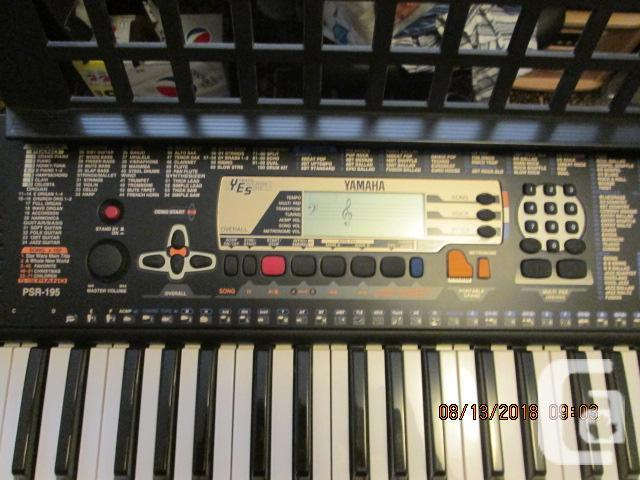 Yamaha PSR 195 Digital Keyboard