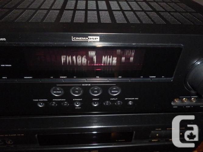 Yamaha RX-V565 7.1 channel AV Receiver HDMI & Remote