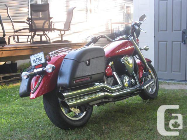 Yamaha V-Star Touring,  1300cc    2007