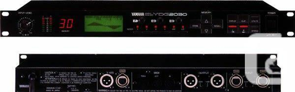YAMAHA YDG2030 2 CHANS 30 RINGS FEEDBACK LOCATOR LCD SCREEN NUMBER EQ - 0  in Vancouver, British Columbia for sale