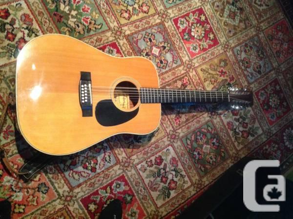 Yamaki Deluxe 12 String Guitar 1973 AY 431 - $160
