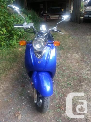 Yamana vino scooter for sale in crofton british columbia for 2004 yamaha vino 50 for sale